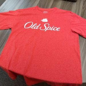 Shirts - OLD SPICE LOGO T-SHIRT 👕 retro brand tee novelty